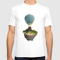 The Great Tropical Escap… Mens Fitted Tee White SMALL