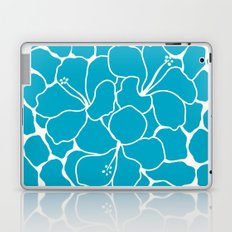 Hibiscus Animal: Caribbean Blue Laptop & iPad Skin