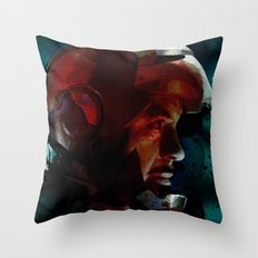 The Knight in the Shining Armour...  Throw Pillow