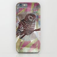 iPhone & iPod Case featuring Bird Screenprint by Anna Tarach