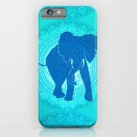 Turquoise Elephant  iPhone 6 Slim Case