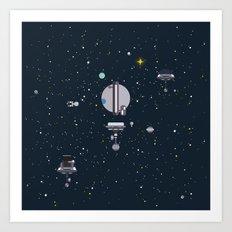 M - Triton Art Print