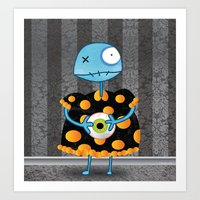 Little Lulu Unzicker Wit… Art Print