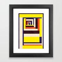 Out Framed Art Print