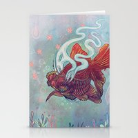 Ocean Jewel Stationery Cards