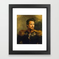 Robert Downey Jr. - Repl… Framed Art Print