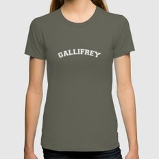 Gallifrey College Logo Womens Fitted Tee Lieutenant SMALL