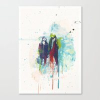 Canvas Print featuring Pyromania by  Maʁϟ