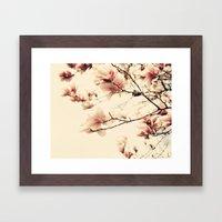 Magnolia Days Framed Art Print
