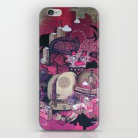 Dont Worry - Party Hard (Pink) Close Up iPhone & iPod Skin