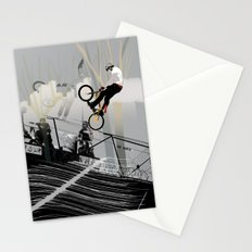 on the wire Stationery Cards