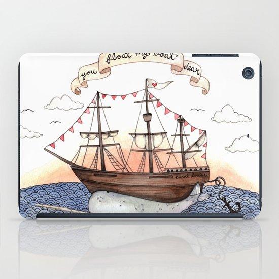 Float My Boat iPad Case