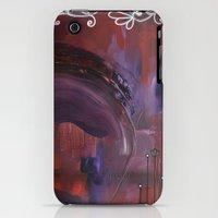 iPhone Cases featuring Black Velvet by Crimson Pearl