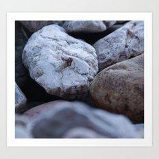 cold stones Art Print