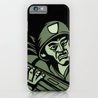 iPhone & iPod Case featuring This is my Weapon by Lee Grace Illustration