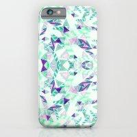 Kaleidoscopic print illustration  iPhone 6 Slim Case