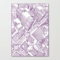 The Watched City Canvas Print