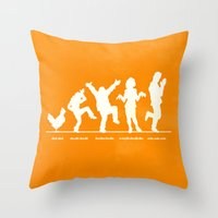 Bluth Chickens Throw Pillow