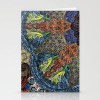Psychedelic Botanical 6 Stationery Cards