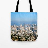Twin Peaks, San Francisc… Tote Bag