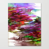 FERVOR 3 Colorful Bold A… Canvas Print
