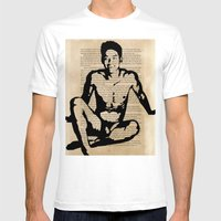 I Realized I Was Not Alo… Mens Fitted Tee White SMALL