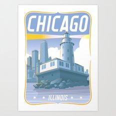 Chicago! Art Print