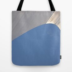 Found Art Deco Breaking Wave Tote Bag