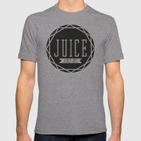 Juice Emblem Mens Fitted Tee Athletic Grey SMALL