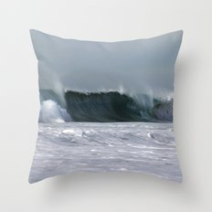 Fast as a Wave Throw Pillow