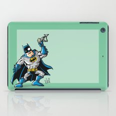 Another Strong man in a super hero costume iPad Case