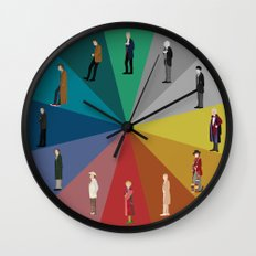 Doctor Who? Wall Clock