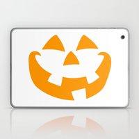 Pumpkin Face Laptop & iPad Skin