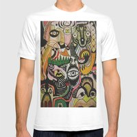 Jungle Boogie Mens Fitted Tee White SMALL