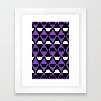 Cat Pattern  Framed Art Print