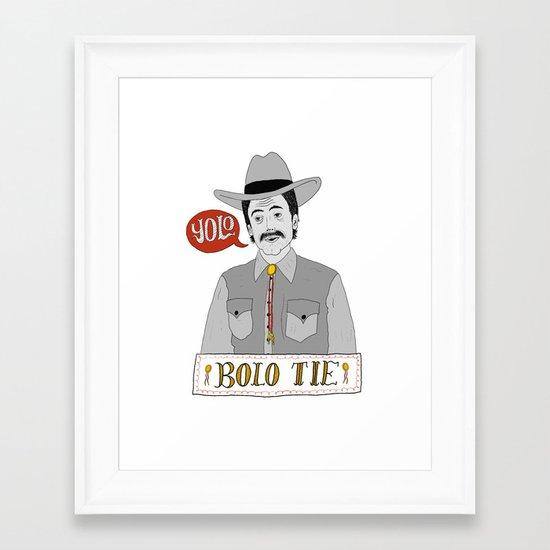 Yolo Bolo Framed Art Print