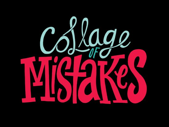 Collage of Mistakes Canvas Print