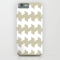 jaggered and staggered in tidal foam iPhone 6 Slim Case