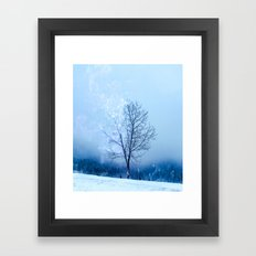 Burning Nature Framed Art Print