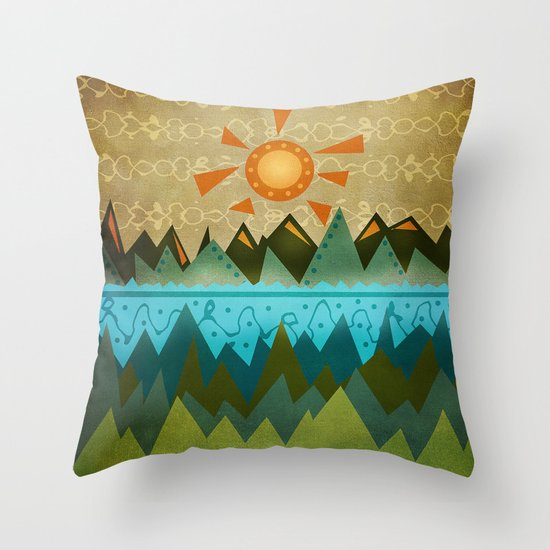 Textures/Abstract 124 Throw Pillow