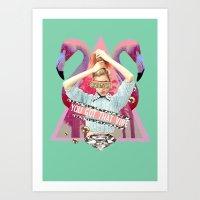 You Got That Vibe. Art Print