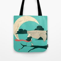 Did You See The Whale In… Tote Bag