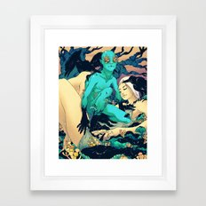 Sleep Paralysis Framed Art Print
