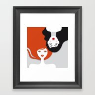 Beauty Comes In All Colo… Framed Art Print