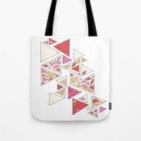 Geometric Mosaic Triangl… Tote Bag