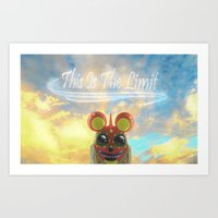 This Is The Limit Art Print