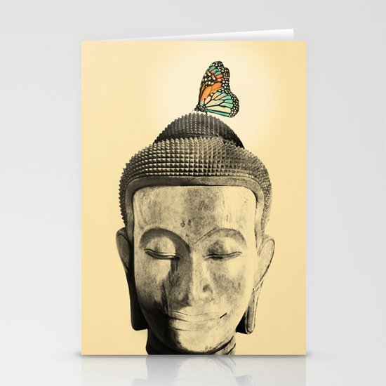 Buddha Series - Tranquil Stationery Card