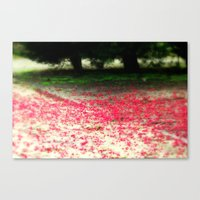 Colour Under The Tree Canvas Print