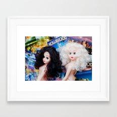 Gone Hollywood Framed Art Print