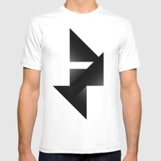 Directions by [PE] SMALL Mens Fitted Tee White